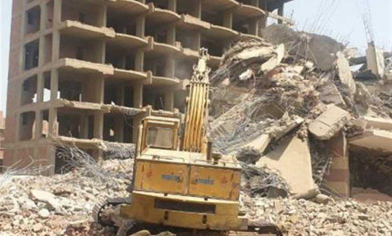 مخالفات البناء بالجيزة