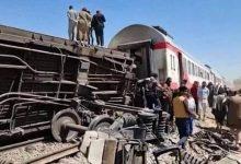 رئيس الوزراء يتابع حادث قطار طوخ مع وزيرى النقل والصحة