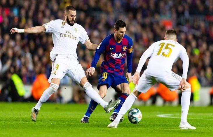ريال مدريد يفوز بالكلاسيكو على برشلونة بهدفين