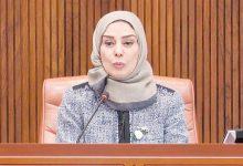جبالي يهنئ رئيسة النواب البحريني لفوزها بعضوية استشارية مكافحة الإرهاب