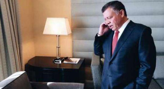 الإنقلاب في الأردن