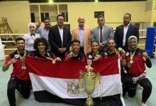 مصر تحصد المركز الأول وكأس إفريقيا لـ الكيك بوكسينج بالكاميرون