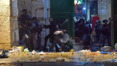 """الاحتلال-الاسرائيلي-يعتدي-علي-المصلين-في""""المسجد الأقصى""""الوكالة-نيوز"""
