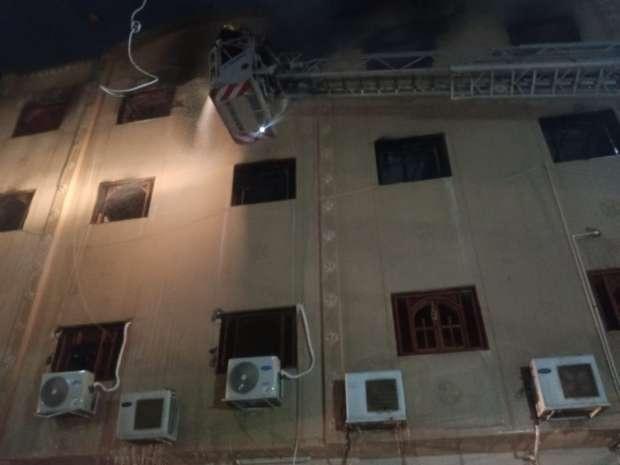 التفاصيل الكاملة لحريق كنيسة مارمينا بالعمرانية