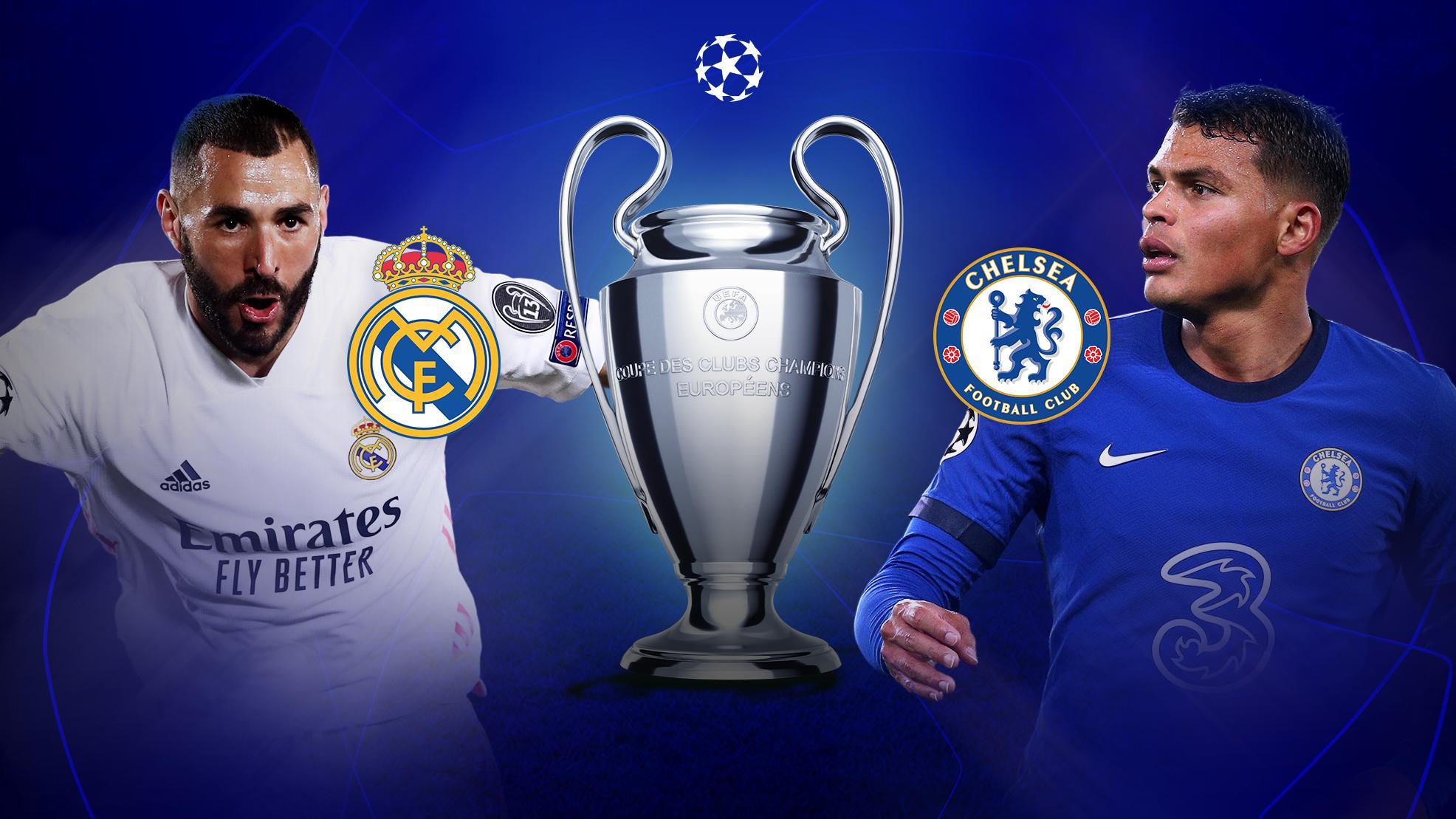 ريال مدريد وتشيلسي.. من يحجز بطاقة التأهل إلى نهائي دوري أبطال أوروبا