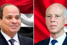 السيسي يهنئ الرئيس التونسي بعيد الفطر المبارك