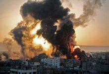 غارات إسرائيلية عنيفة على شمال وغرب غزة