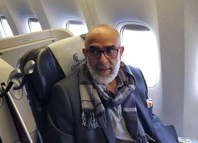 عودة أشرف السعد إلى مصر
