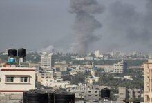 سقوط-شهيد-جراء-غارة-إسرائيلية-قرب-مركز