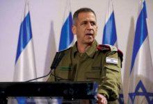 العربية: الحكومة الإسرائيلية تمدد ولاية رئيس الأركان سنة إضافية