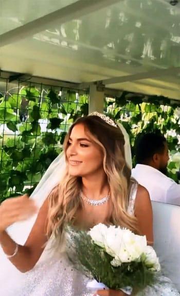 بعد زفافها.. كل ما تريد معرفته عن كاميليا إبنة علا غانم